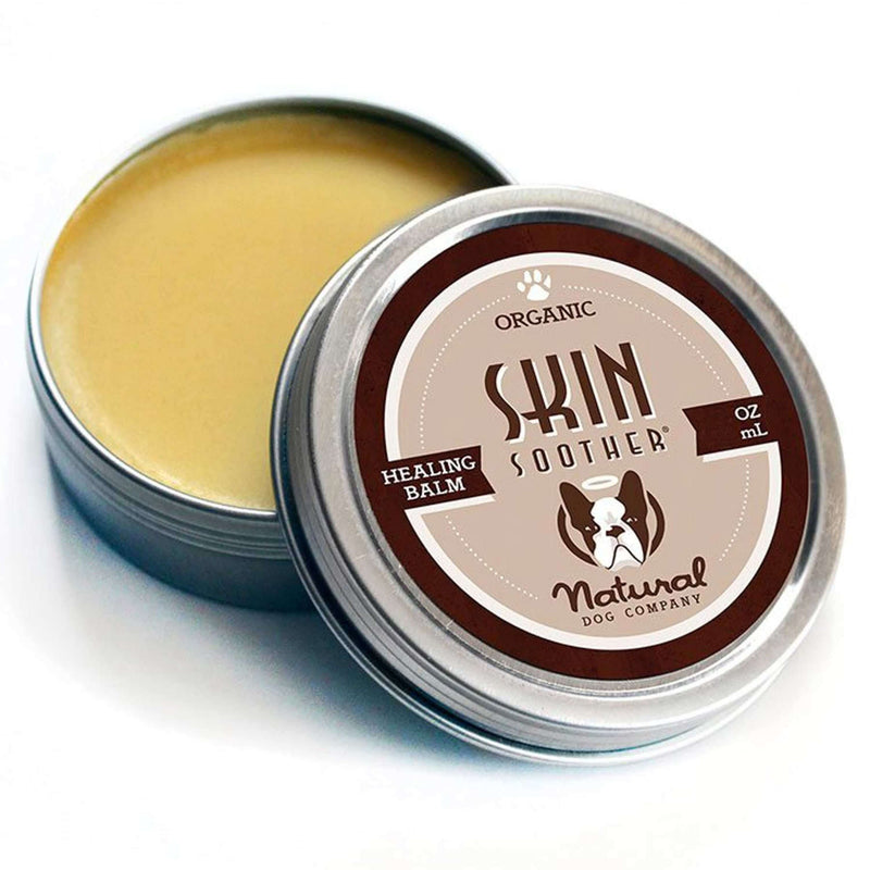 Natural Dog Company - Skin Soother (Organic Healing Balm) - Dog Body Care (3 Sizes)