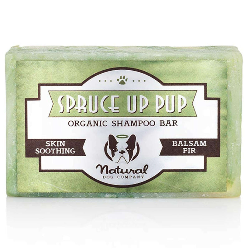 Natural Dog Company - Spruce Up Pup (Organic Shampoo Bar) - Dog 4oz Bath