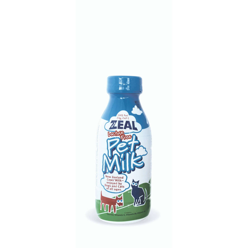 Zeal - 100% Natural Lactose Free Pet Milk For Cats & Dogs (2 Sizes)