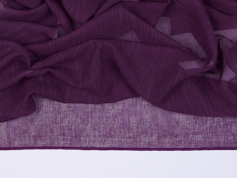 Antwerp Grape Sheer Fabric