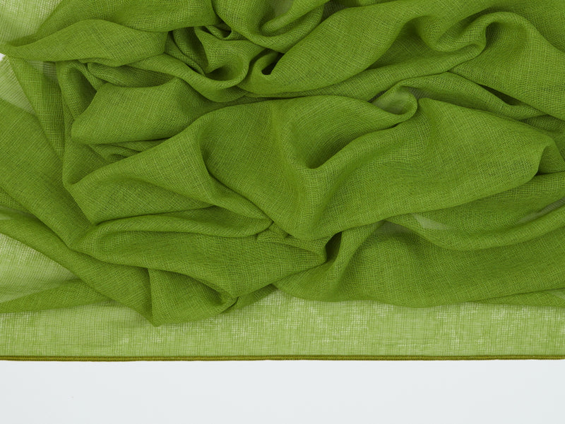 Antwerp Green Sheer Fabric