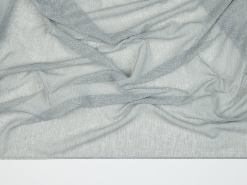 Antwerp Grey Sheer Fabric