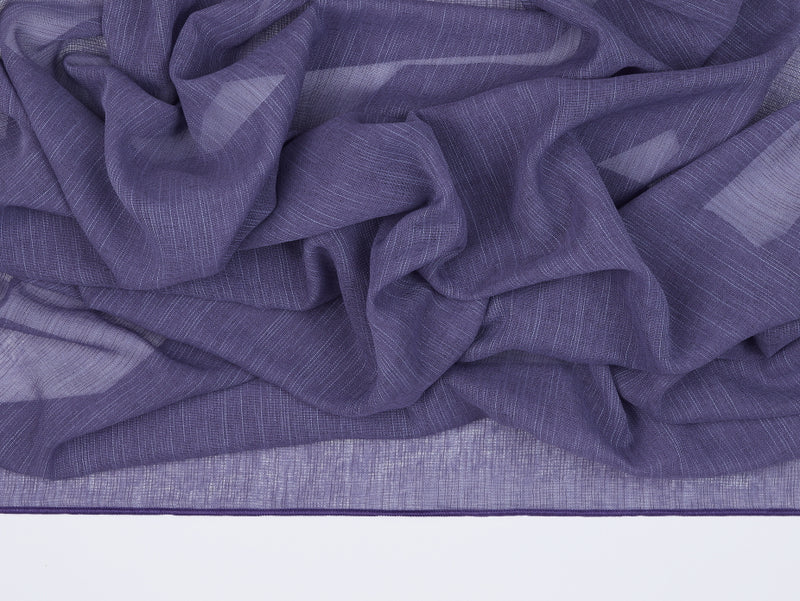 Antwerp Purple Sheer Fabric