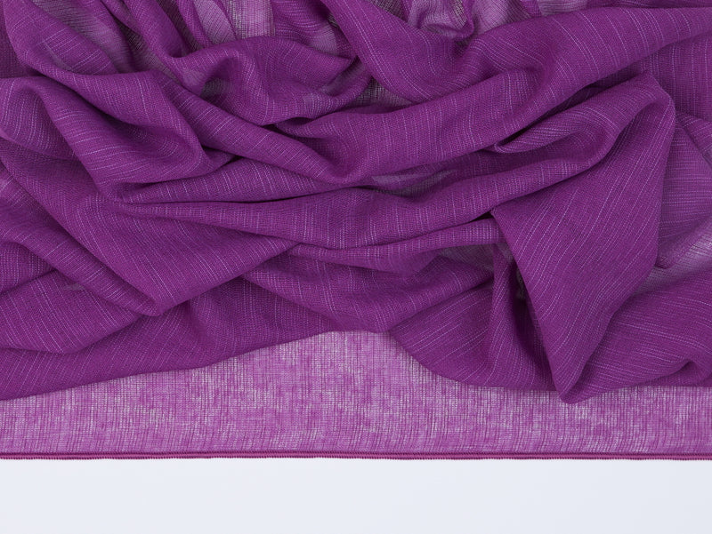 Antwerp Violet Sheer Fabric