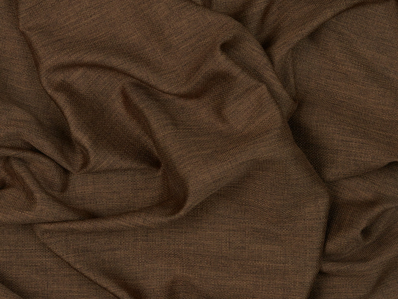 Beirut Chocolate Sheer Fabric