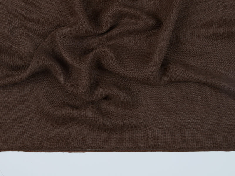 Budapest Chocolate Sheer Fabric