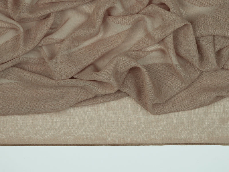 Cairo Driftwood Sheer Fabric