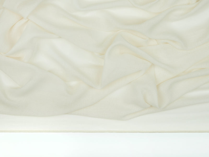 Cairo French Vanilla Sheer Fabric