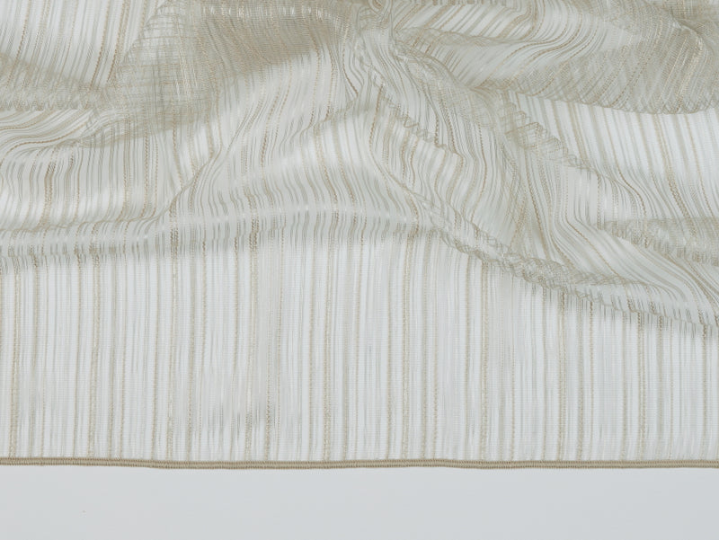 Cannes Fawn Sheer Fabric
