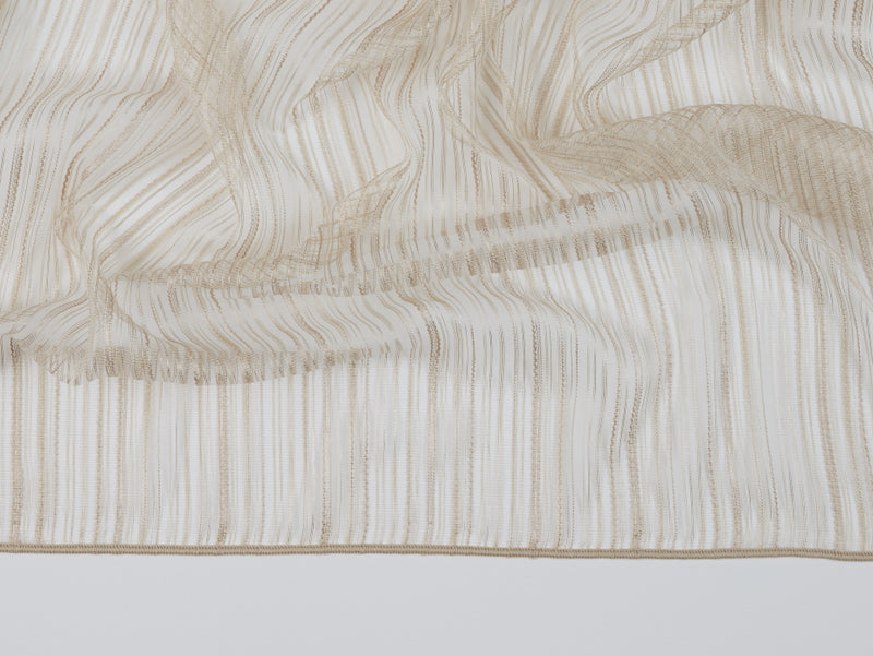 Cannes Natural Sheer Fabric