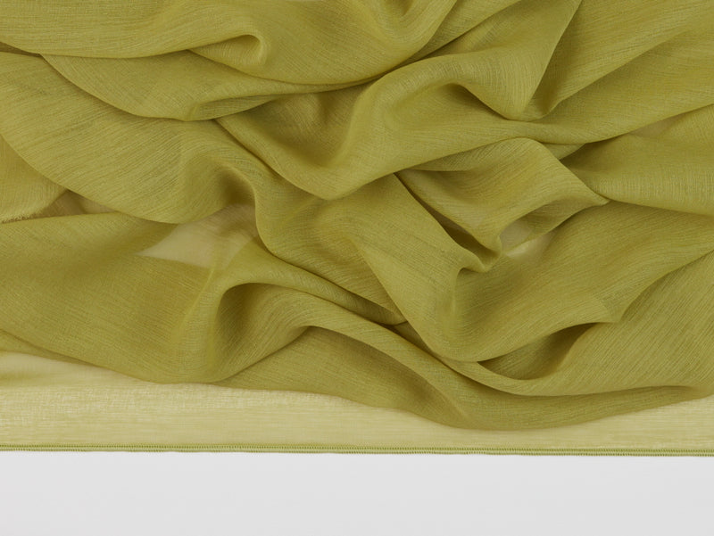 Riviera Lime Sheer Fabric