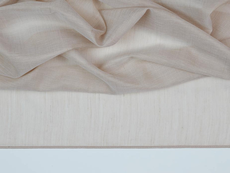 St. Tropez Brown Sheer Fabric