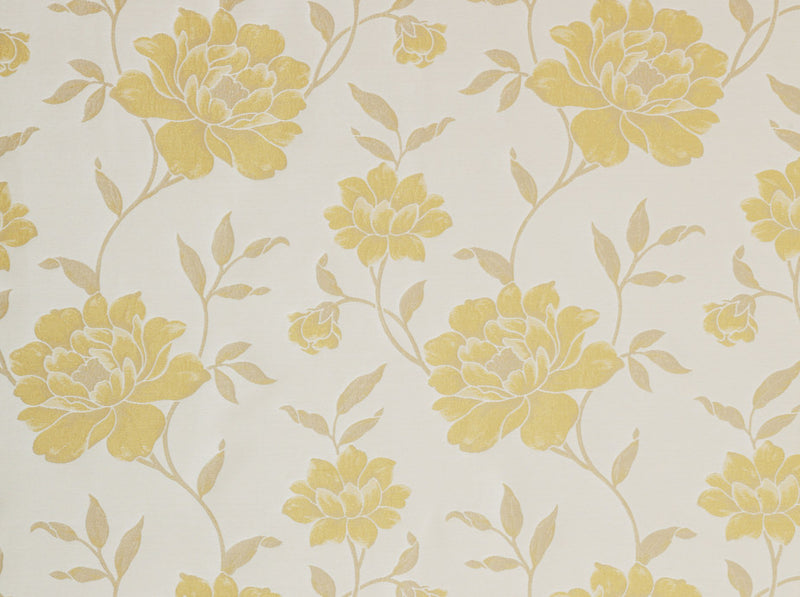 Clearance Victoria Flower Soft Gold Fabric