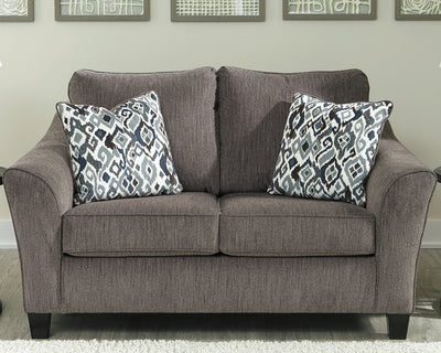 Nemoli Signature Design by Ashley Loveseat