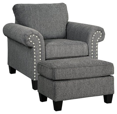 Agleno Benchcraft 2-Piece Chair & Ottoman Set
