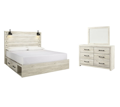 Cambeck Signature Design 5-Piece Bedroom Set with 4 Storage Drawers