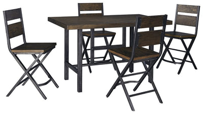 Kavara Signature Design 5-Piece Dining Room Set