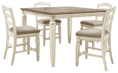 Realyn Signature Design 5-Piece Dining Room Package