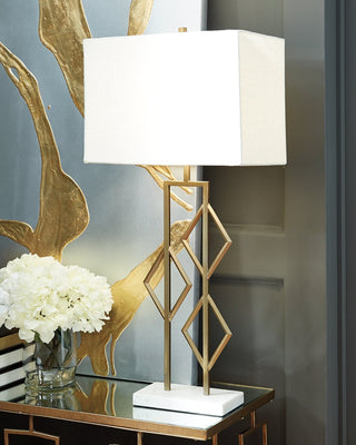 Edsel Signature Design by Ashley Table Lamp