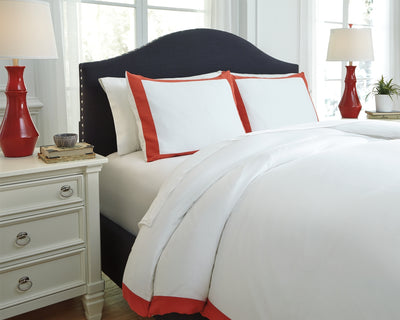 Ransik Pike Signature Design by Ashley Duvet Cover Set Queen