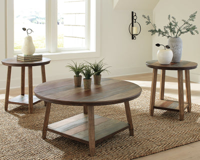 Raebecki Signature Design by Ashley Occasional Table Set 3CN