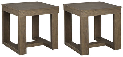 Cariton Signature Design 2-Piece End Table Set