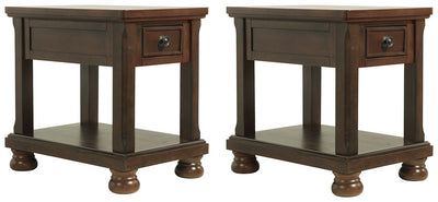 Porter Signature Design 2-Piece End Table Set