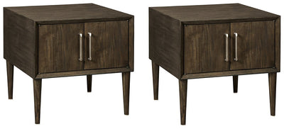Kisper Signature Design 2-Piece End Table Set