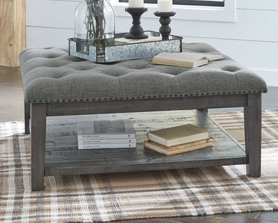 Borlofield Signature Design by Ashley Cocktail Table Ottoman