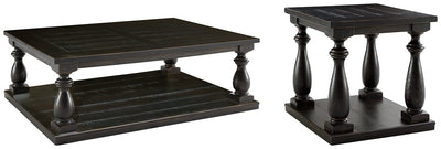 Mallacar Signature Design 2-Piece Table Set