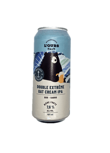 Bière L'ours brun - Double Extreme Oat cream ( DDH- Sabro )