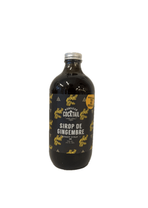 Sirop Monsieur cocktail - 500ml gingembre
