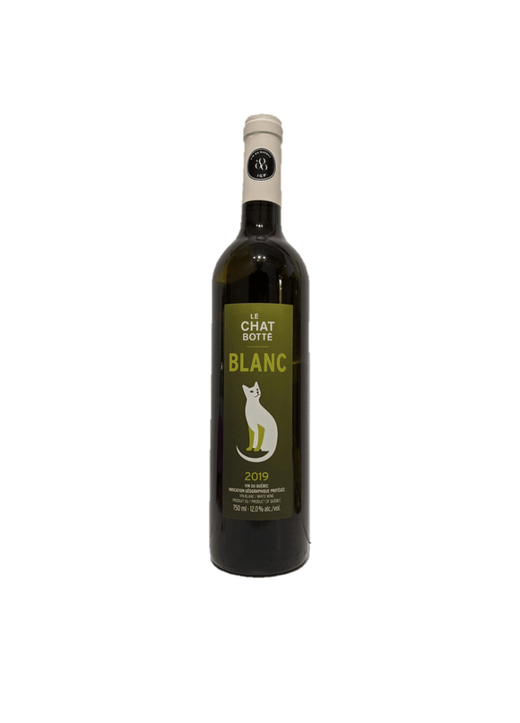 Vin Chat Botté - Blanc 2019