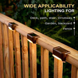 Solar Outdoor Deck Lights Waterproof LED 7-PACK