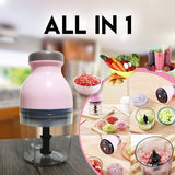 All in 1 Capsule Cutter Food Processor