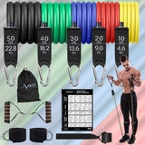 RESISTANCE BAND - 11 PCS SET