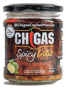 Chigas Capital Manila (Kapitolyo, Pasig City) Spicy Dilis 240g