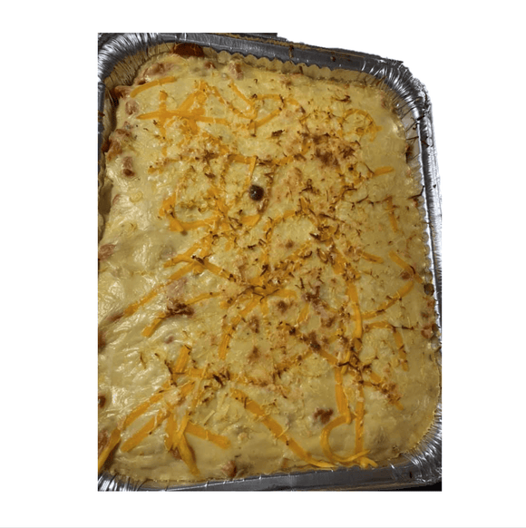 Mine's Choice (Quezon City) Cheesy Baked Macaroni 1tray (10-12 pax)