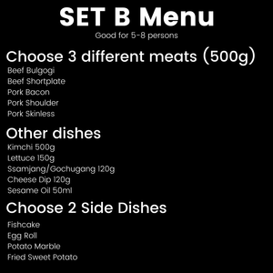 Mine's Choice (Quezon City) Samgyup sa Bahay Set (5-8 pax)