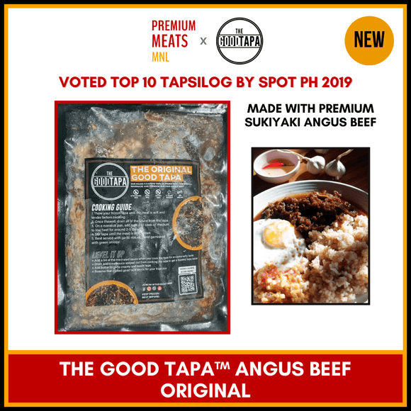 Premium Meats MNL (San Juan City) [Premium Cut] The Good Tapa Angus Beef (Original) 250g