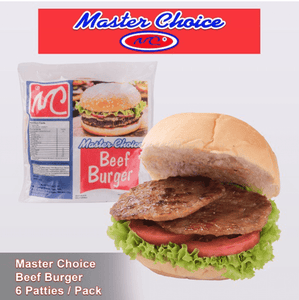 RMA's Food and Beverage Station (Las Piñas City) Master Choice Beef Burger 6pcs