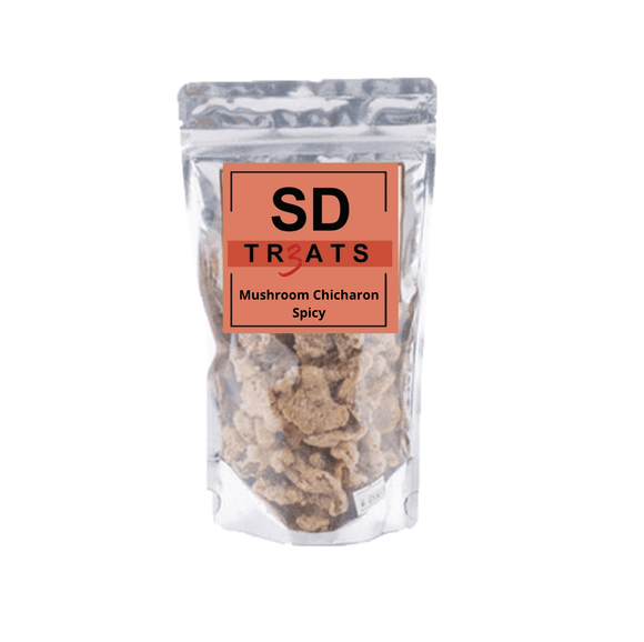 SD Treats (Las Piñas City) Mushroom Chicharon Spicy 100g