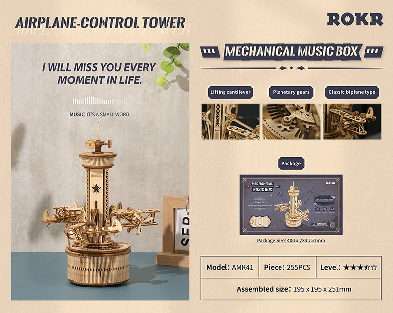ROKR Airplane Control Tower
