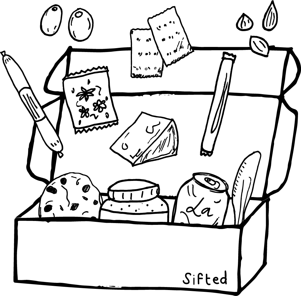 Snack box One time Sifted Omnivore