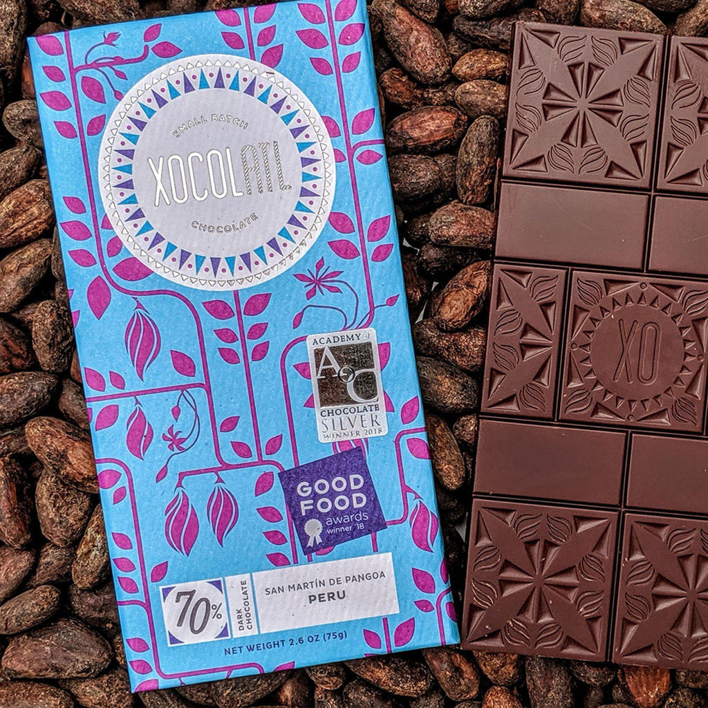 Xocolatl Small Batch Chocolate add-ons Sifted