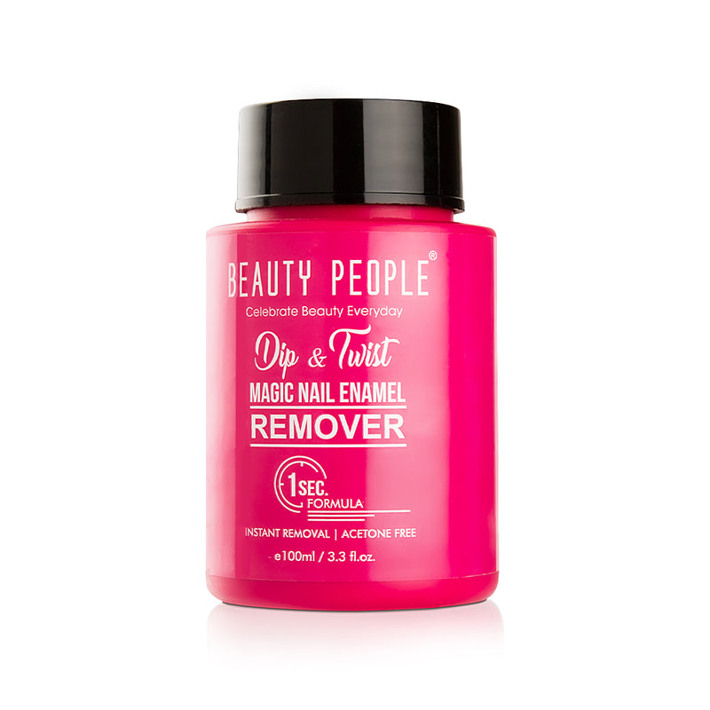 Beauty People Dip & Twist Magic Nail Enamel Remover