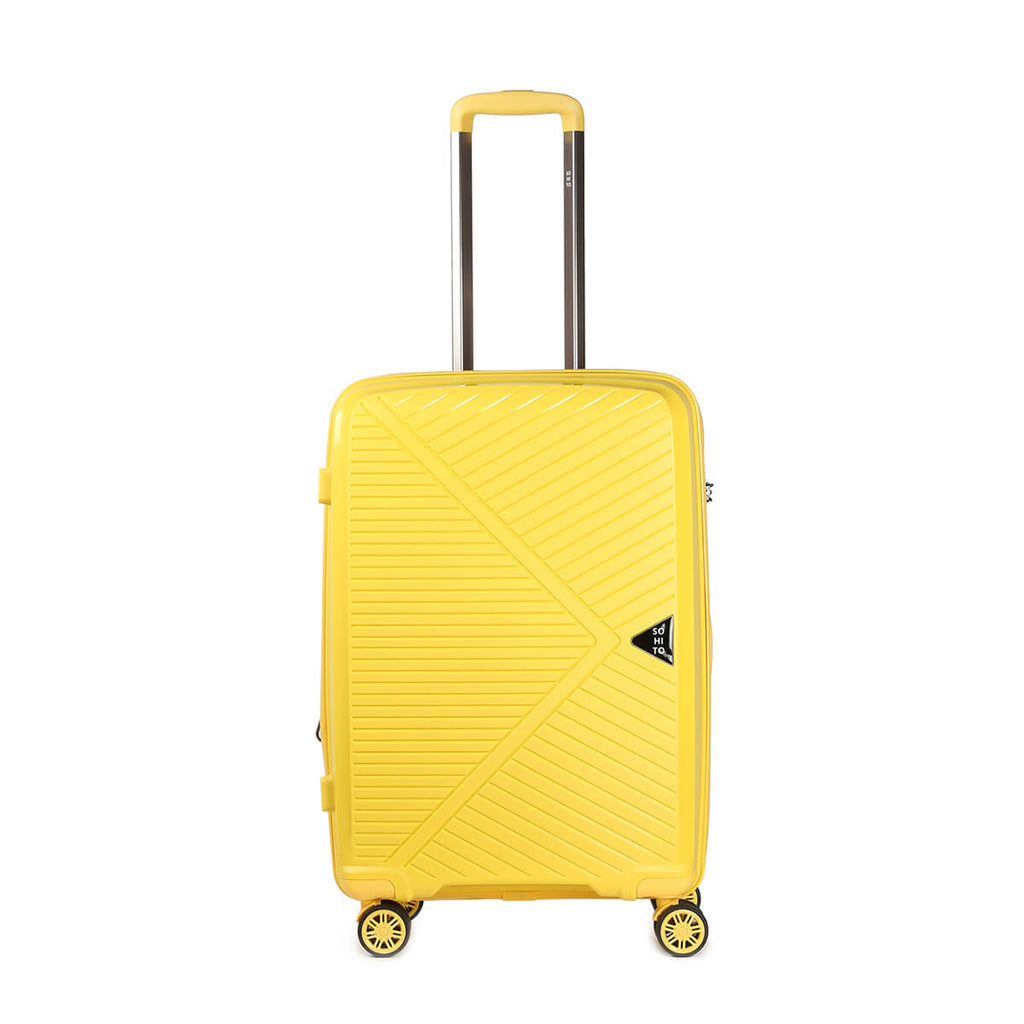 Valise AKARI Medium Jaune