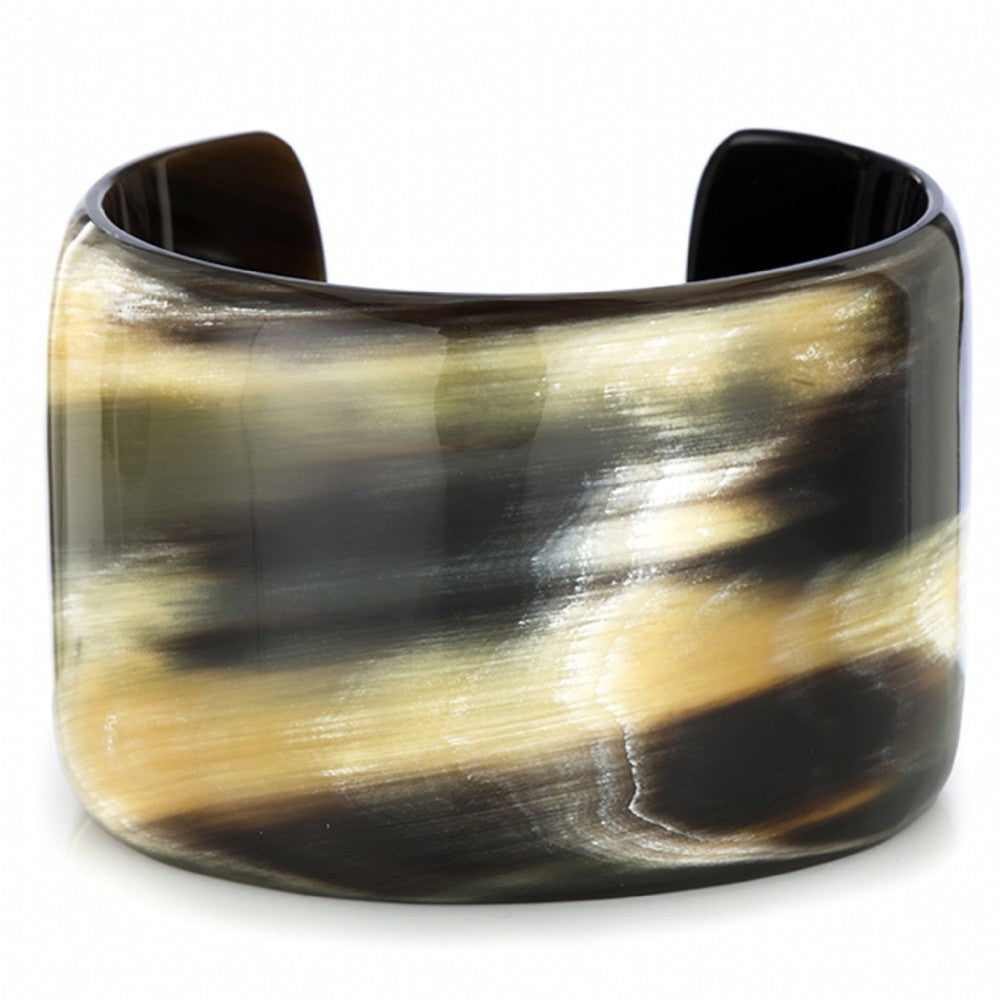 Buffalo Horn Open Cuff 2 IN