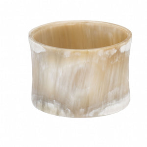 Buffalo Horn Concave Bangle