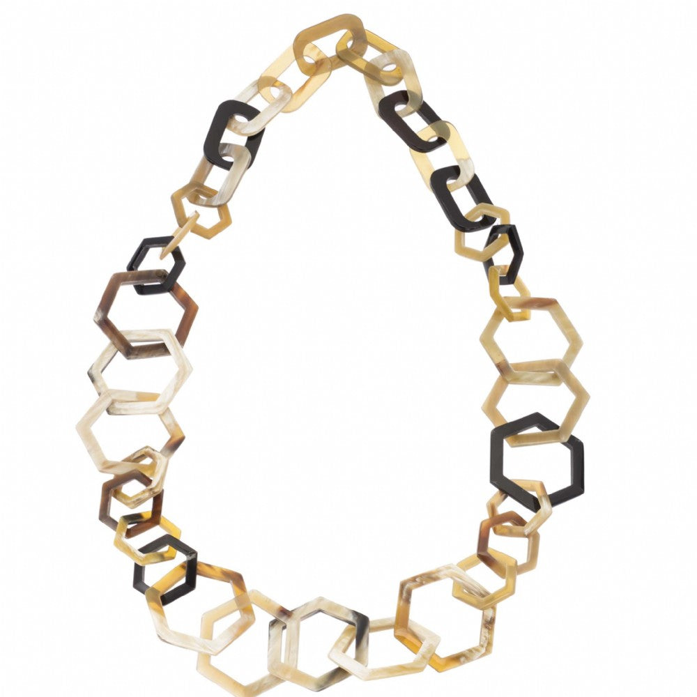 Buffalo Horn Honeycomb Links
